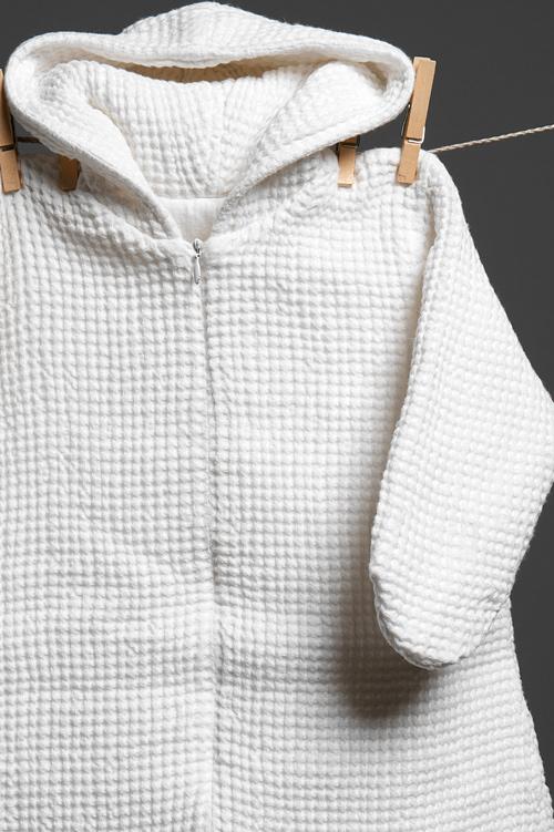 warmer baby schlafsack aus leinen wei leinen boutique. Black Bedroom Furniture Sets. Home Design Ideas