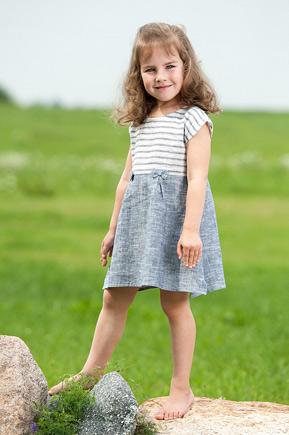 Leinenbekleidung für Mädchen