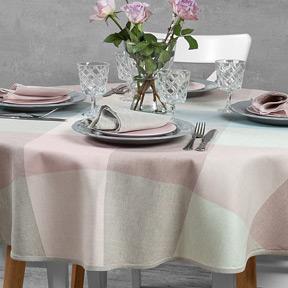 Tischdecken rund, oval